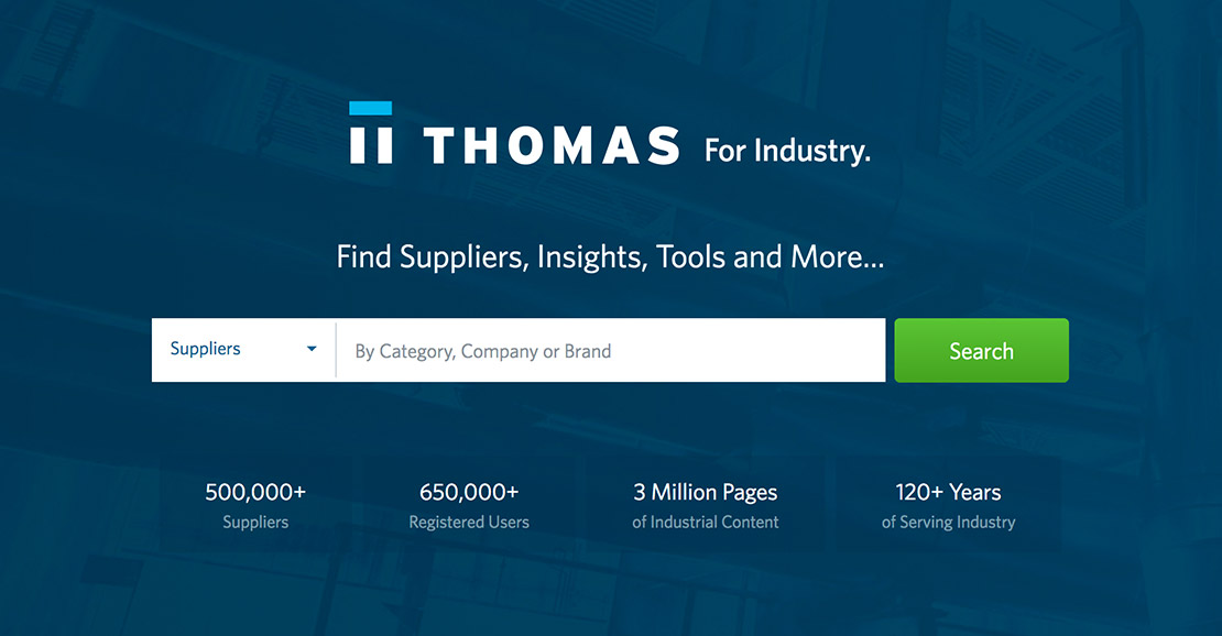 ThomasNet® - Product Sourcing and Supplier Discovery Platform - Find